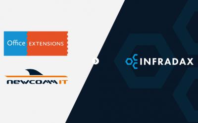 NewComm IT en Office Extensions gaan verder als Infradax